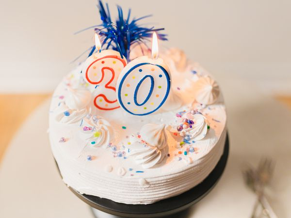 thirtieth birthday cake