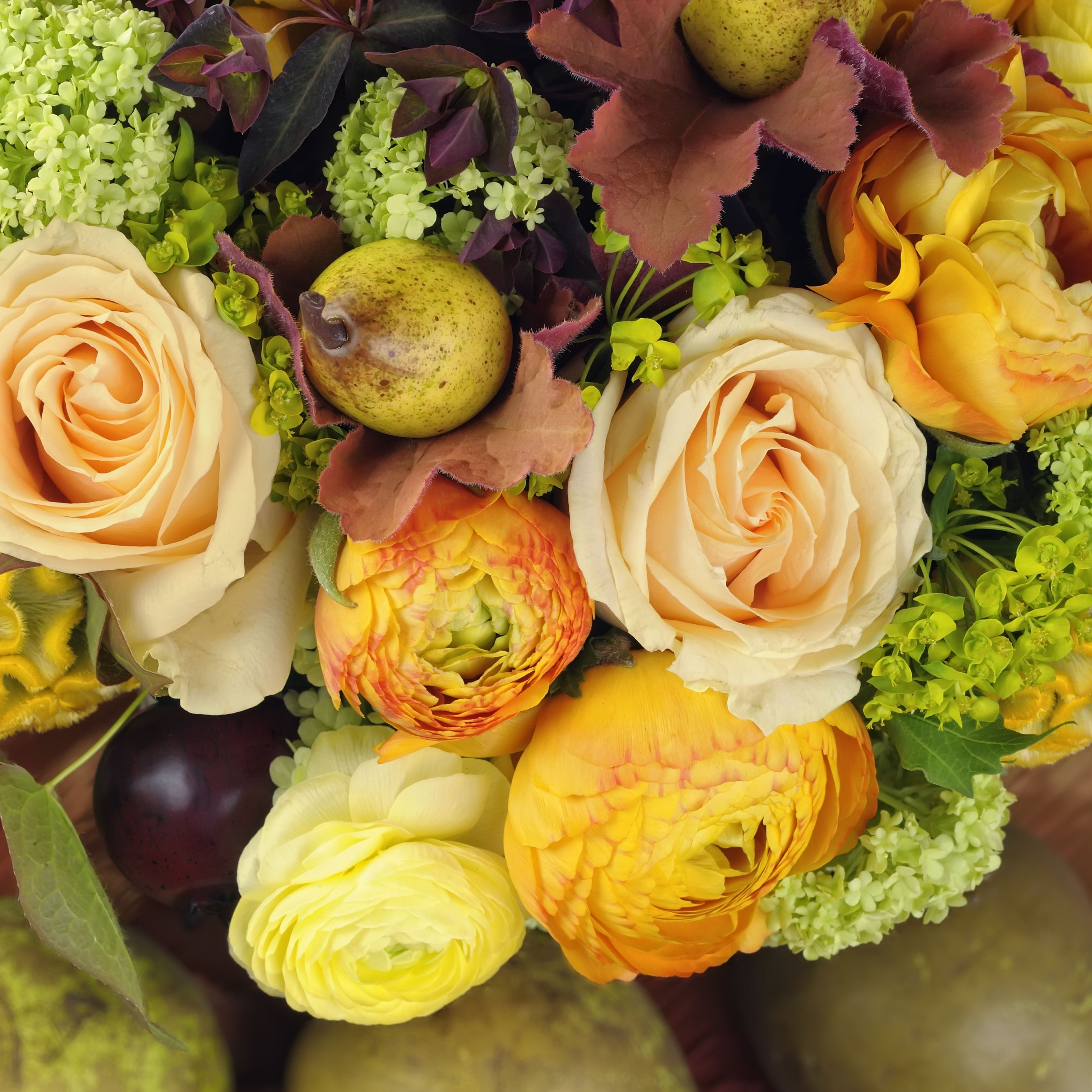 Fall Wedding Flower Gallery