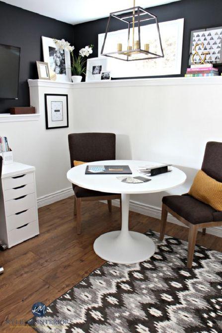 Después - Cambio de imagen de la oficina en blanco y negro