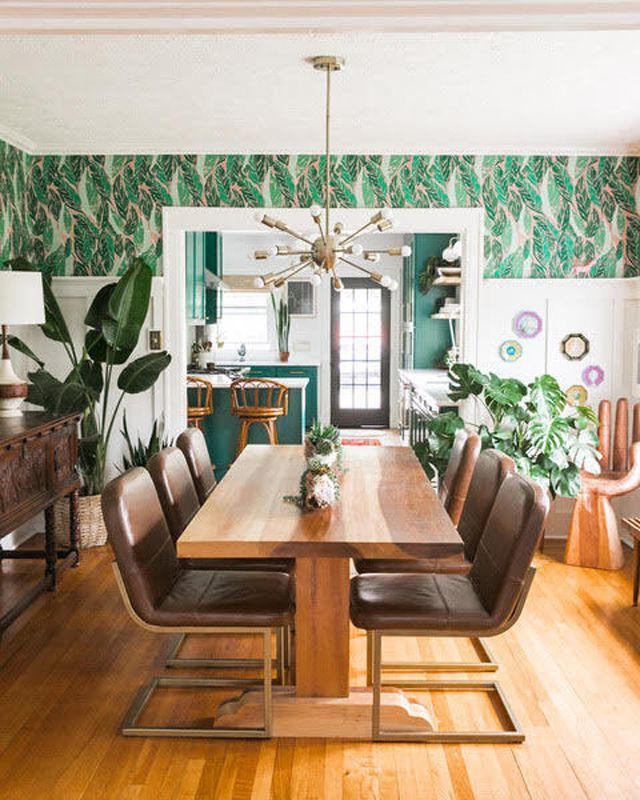 wallpaper dining room