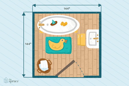 15 Free Bathroom Floor Plans You Can Use
