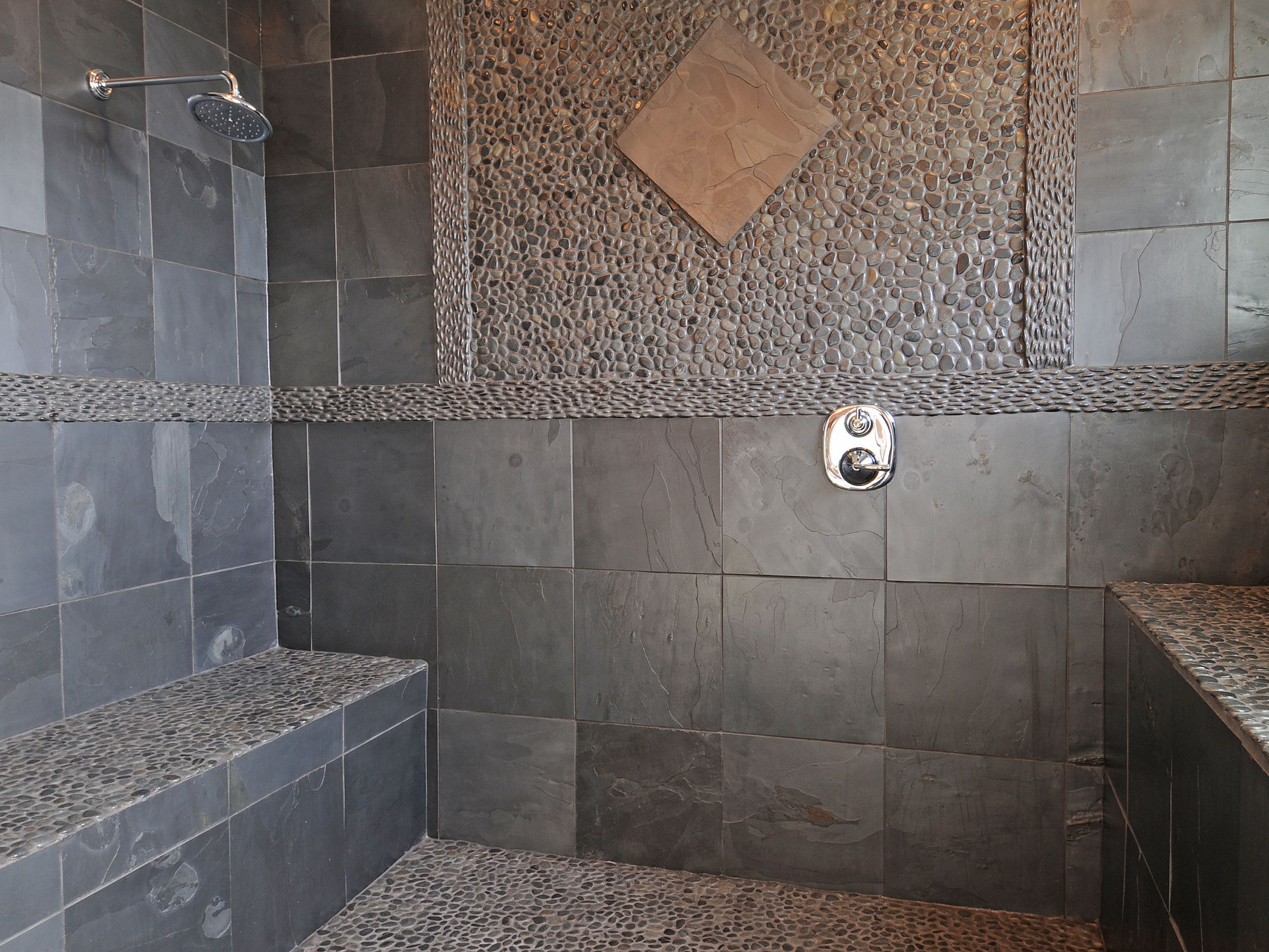 Using Natural Stone In Showers