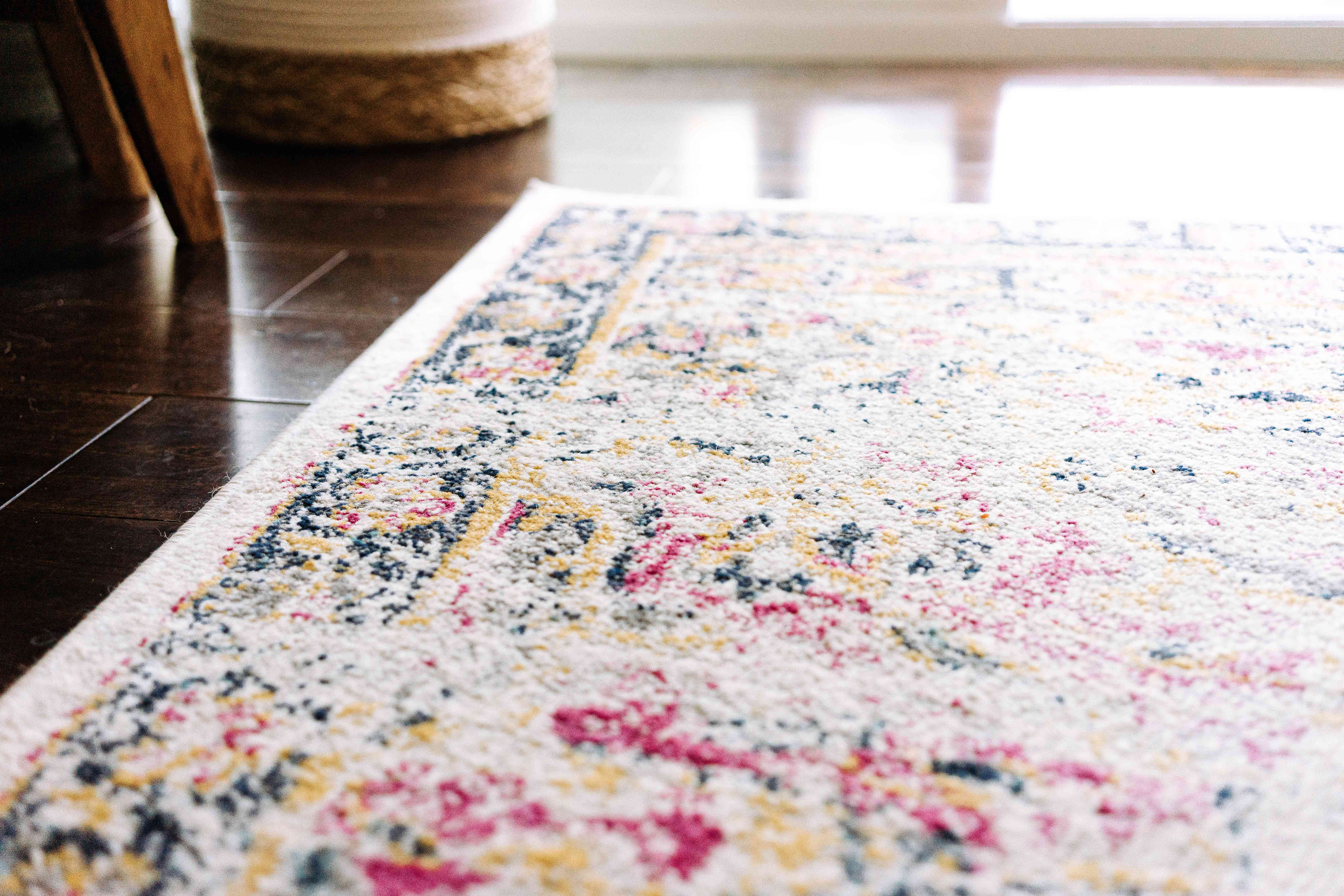 closeup of a carpet