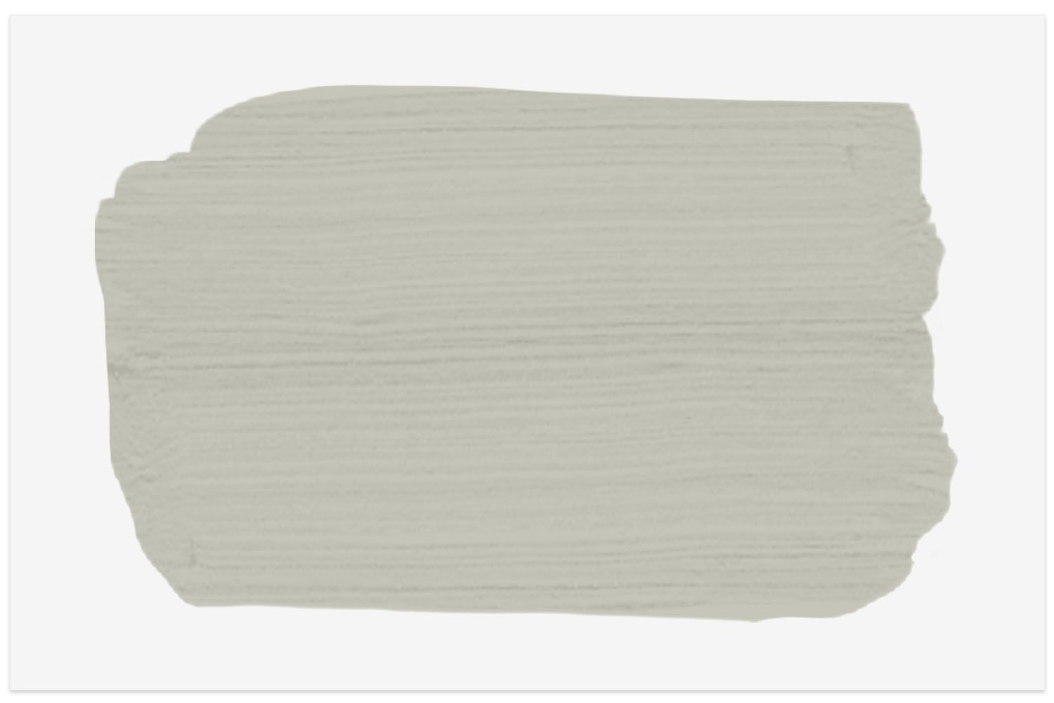 The Spruce paint swatch in Morning Fog