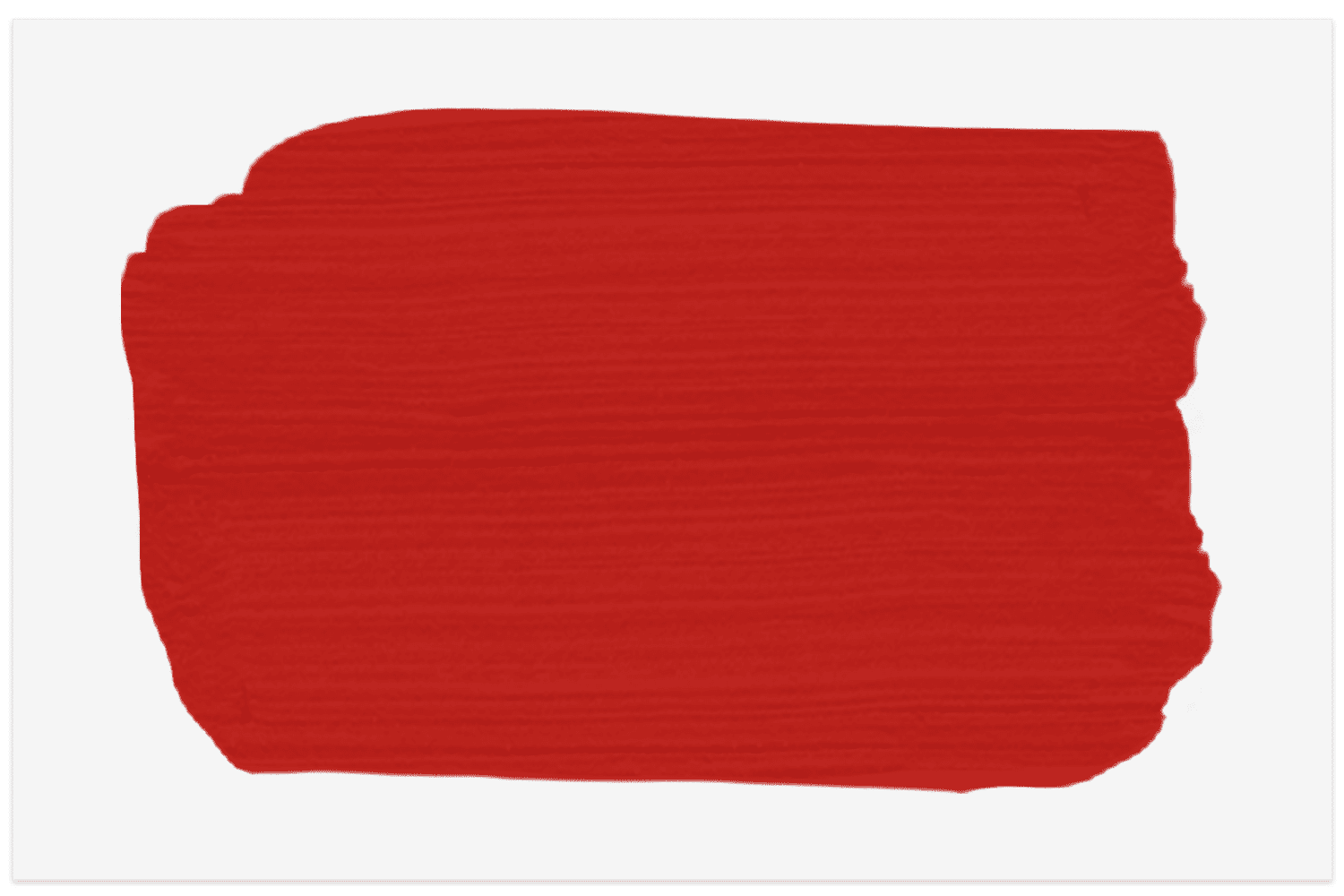 Swatch of Atomic Red by Little Greene