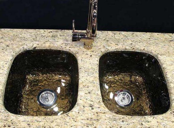 Glass Kitchen Sink