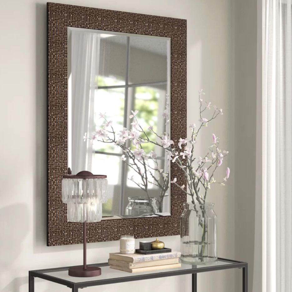World Menagerie Grid Accent Mirror