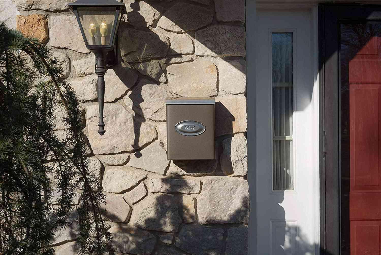 Gibraltar Mailboxes Designer Locking Wall Box