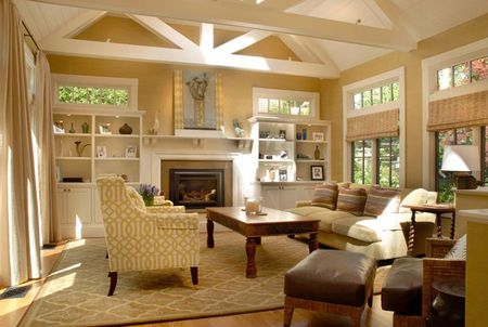 Room Addition Exposed Beams
