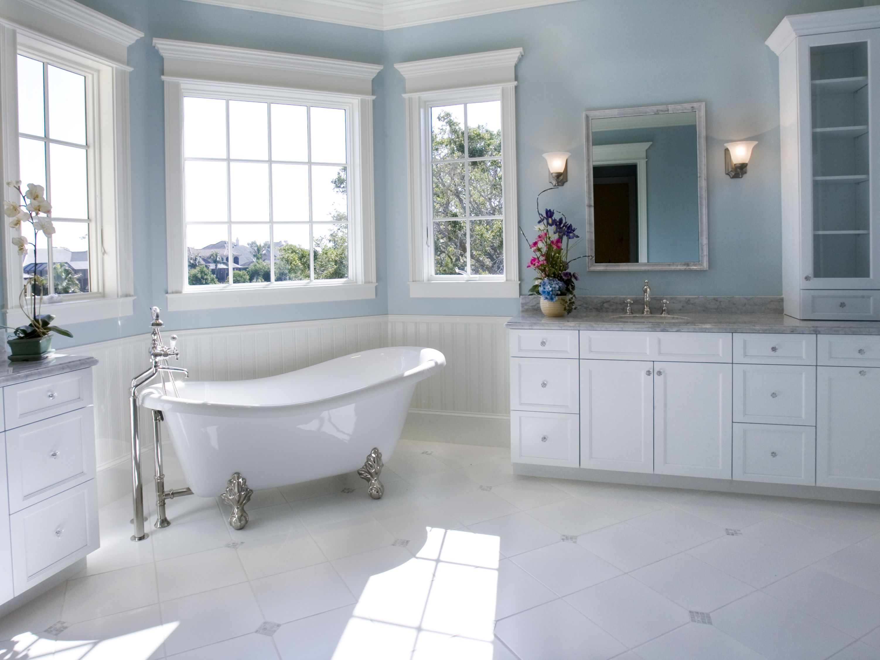 5 Great Budget Friendly Bathroom Flooring Options