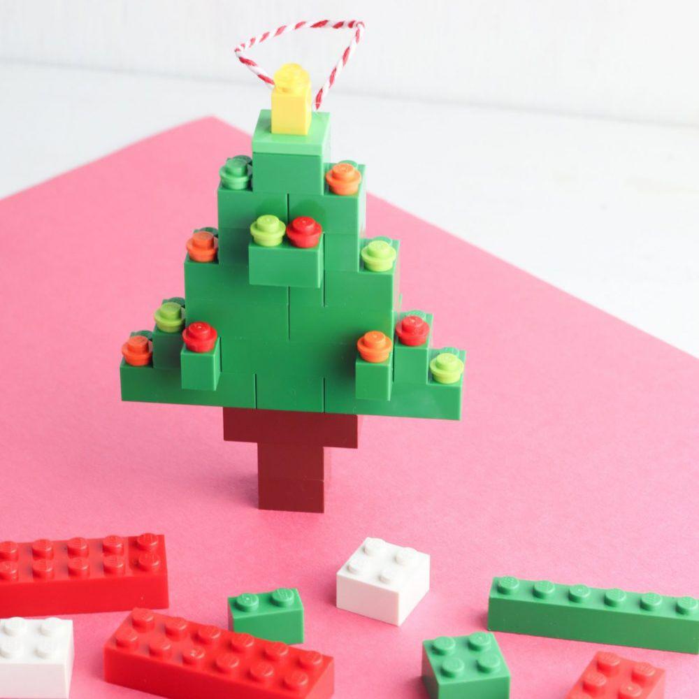 DIY Lego Christmas Tree