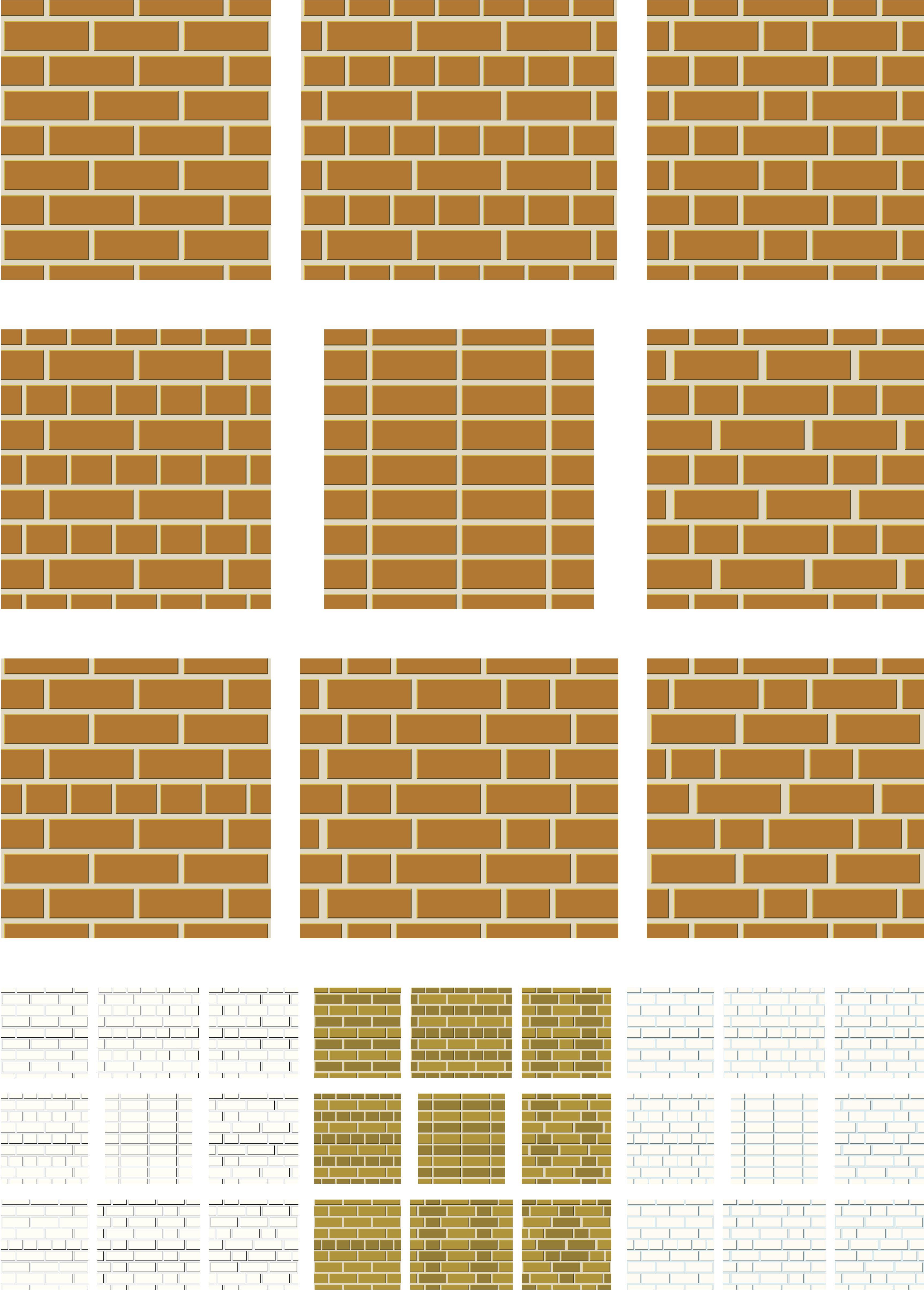 Brick Wall Patterns Unique Design Ideas