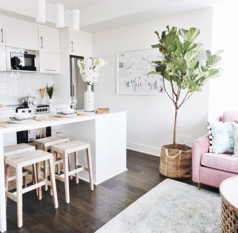 House Tour: Small Space, Big Style In A Cute Condo