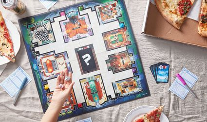 game night with Clue