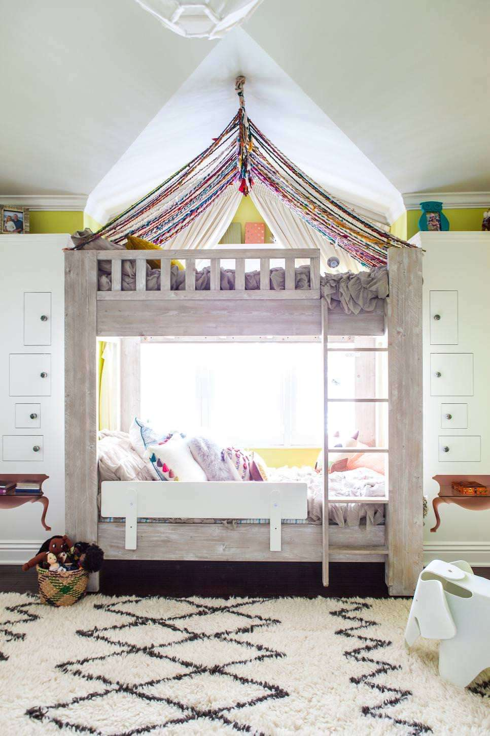 canopy bunk beds