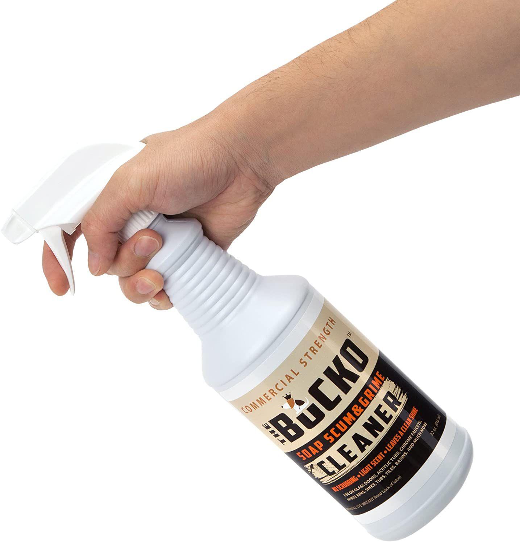 The Bucko Soap Scum and Grime Remover