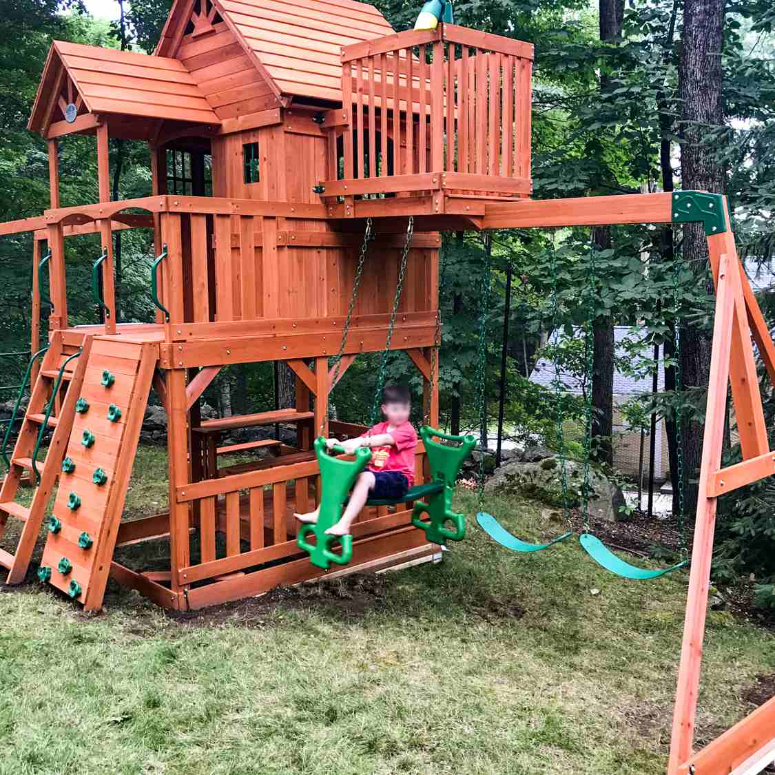 Backyard Discovery Skyfort Ii Swing Set Review Years Of Entertainment