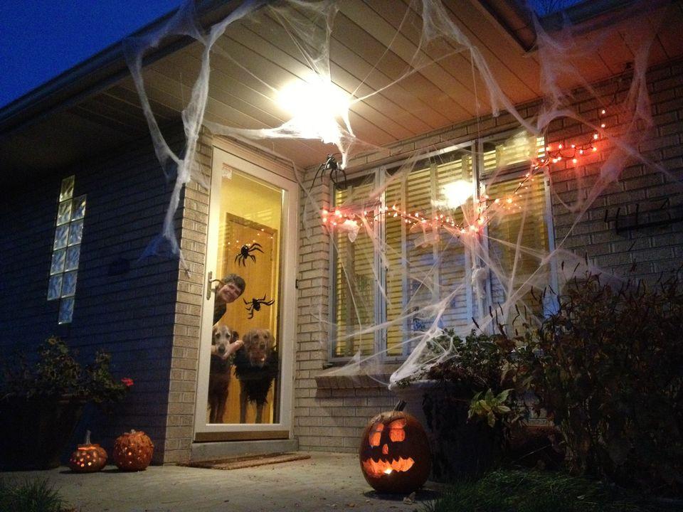 Front Door Decorations For Halloween
