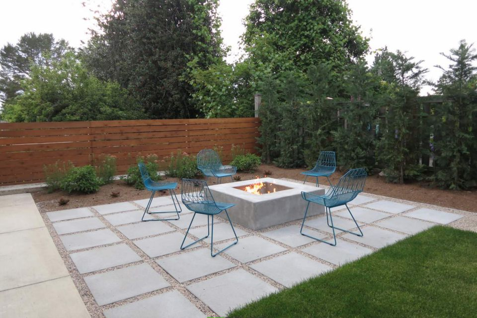 15 Beautiful Concrete Patio Ideas And