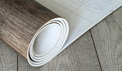 Roll of Vinyl Flooring