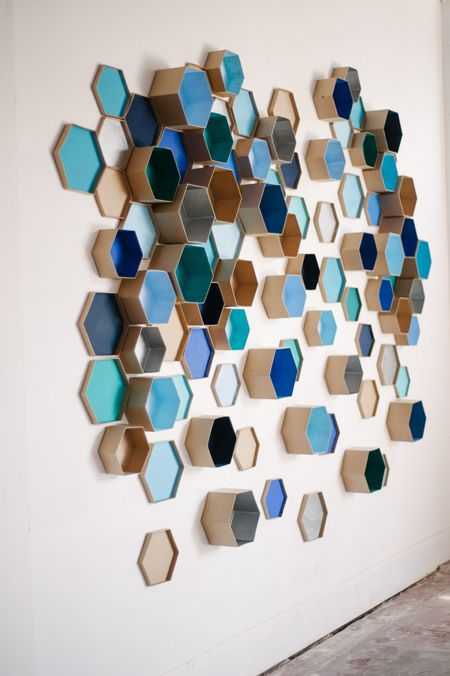 Diy Accent Wall 3d Geometric Wall Art For The Nursery