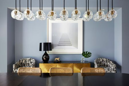 Boule De Cristal Pendant Light