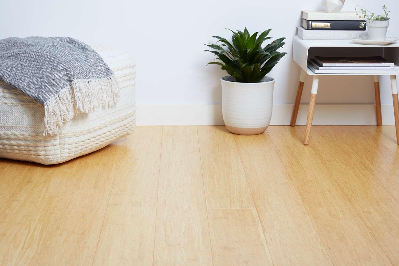 Bamboo bedroom floor