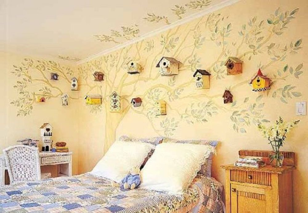 Add Bird Houses to Your Wall