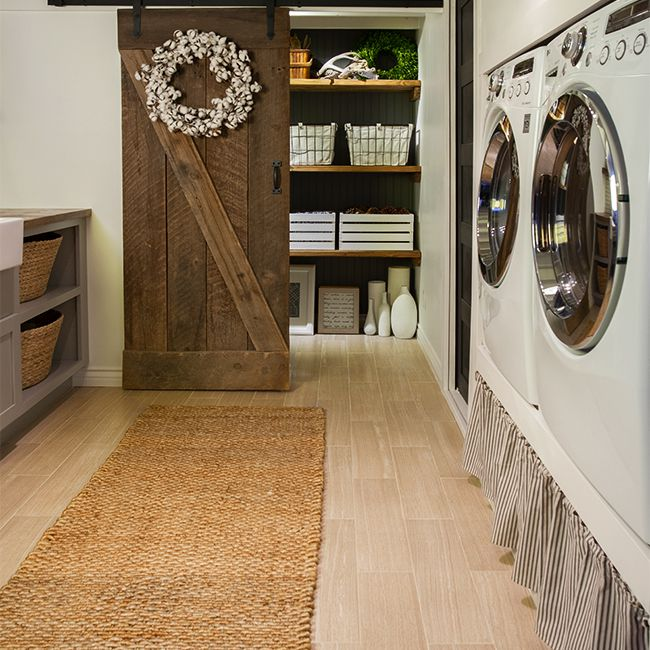 Laundry room transformation