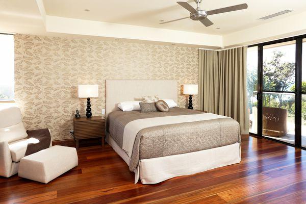 A beautiful master bedroom