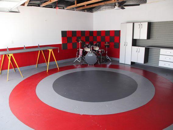 How To Paint A Basement Floor, Best Way To Cut Concrete Basement Floor