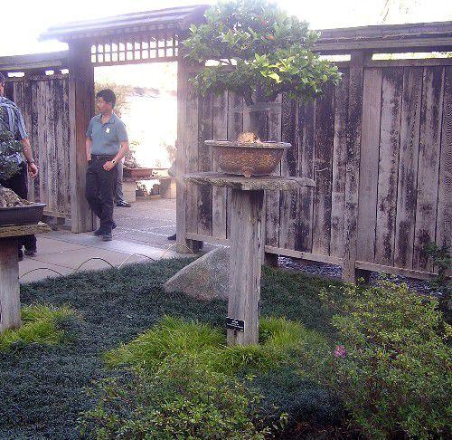 Wood fence in Pasadena, California