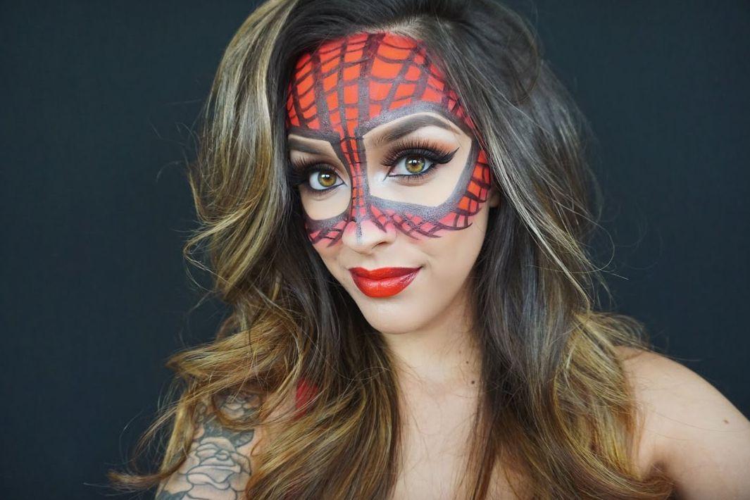 spider-man makeup