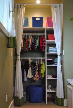 DIY closet nook