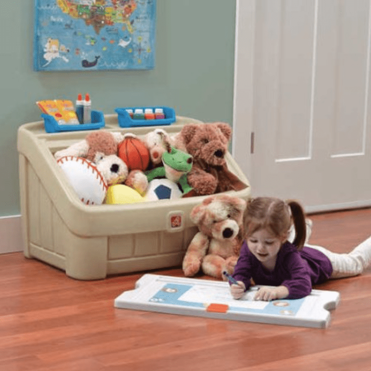 Best Toy Storage For Toddlers Step2 2 In 1 Art Box