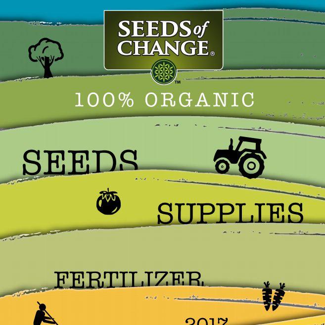 El catálogo de semillas 2017 de Seeds of Change