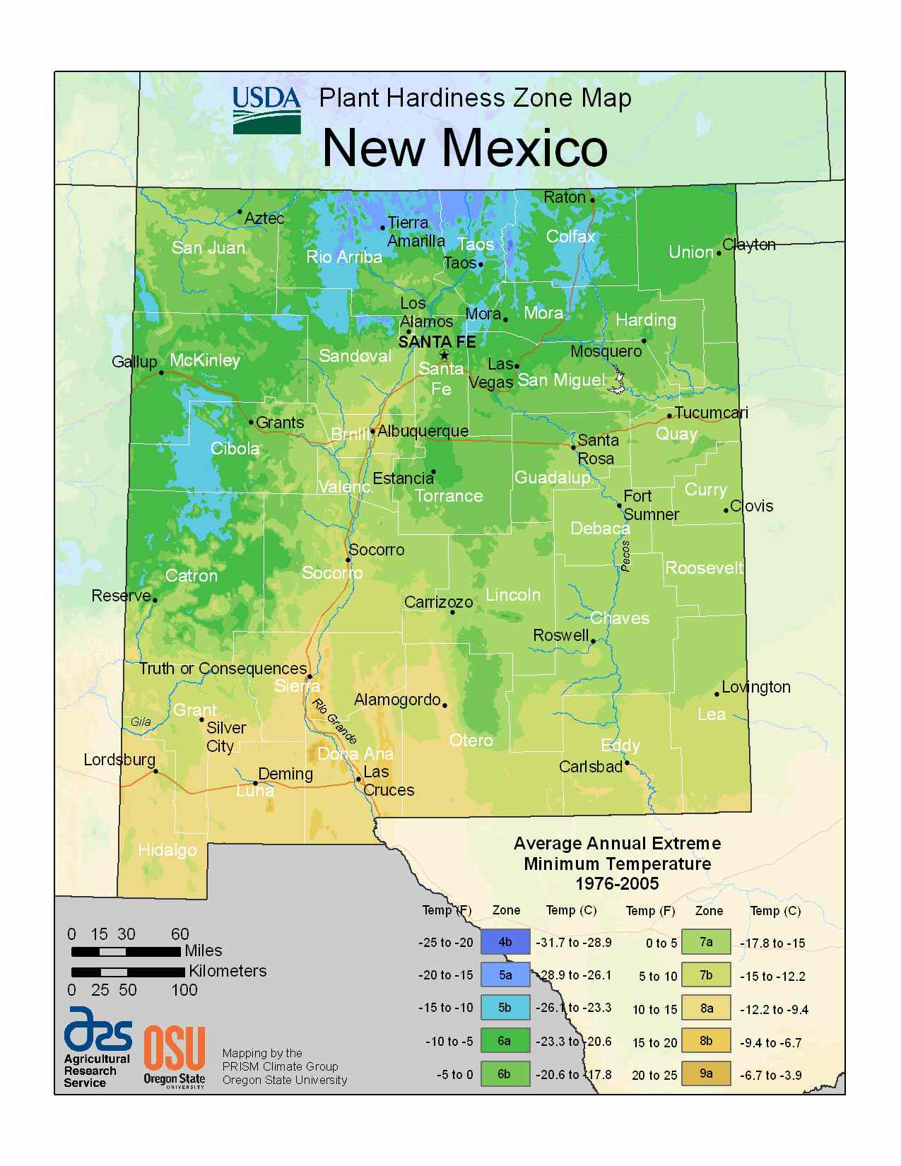 Photo of New Mexico Hardiness Zones