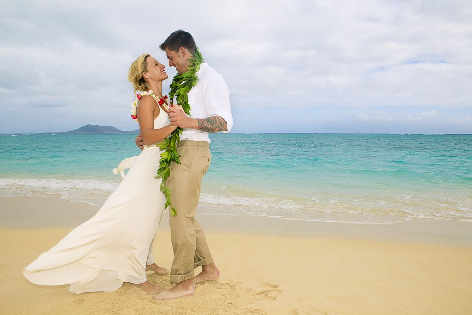 Newlyweds in Hawaii