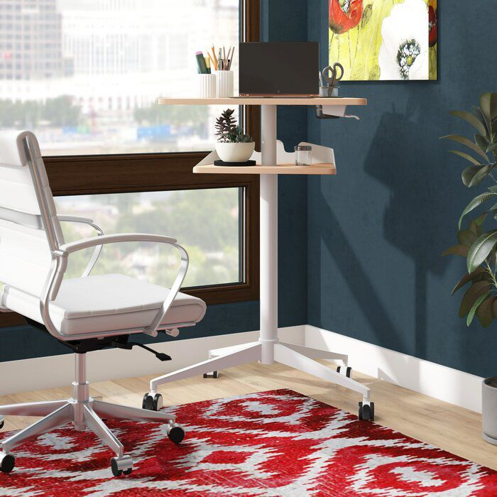 Ebern Designs Cooperton Height Adjustable Standing Desk