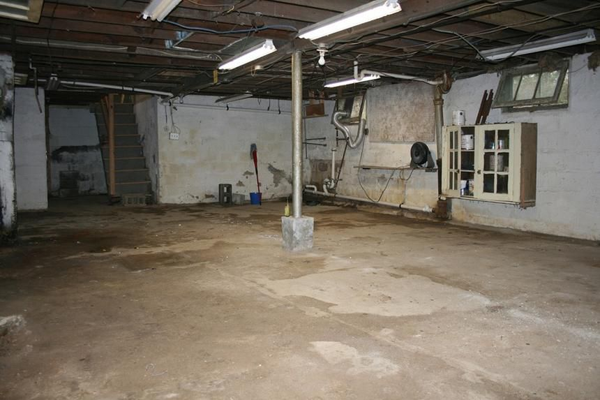 Basement Bathroom Remodel HouseLogic Before