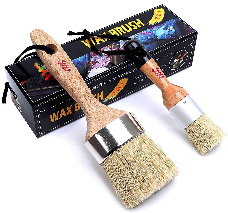 Modern Art Supplies Chalk & Wax Paint Brush Furniture