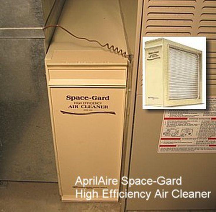 replacing an aprilaire space-gard 2200 furnace filter