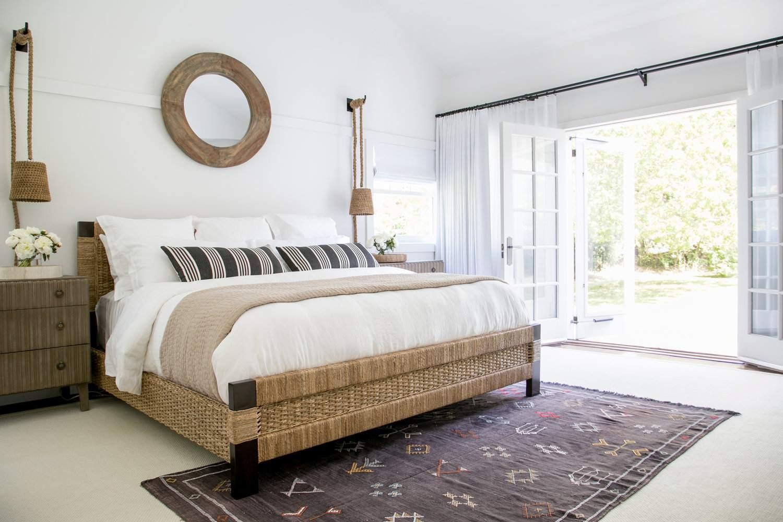 Warm netural toned bedroom