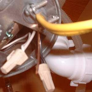 on garbage disposal wiring code