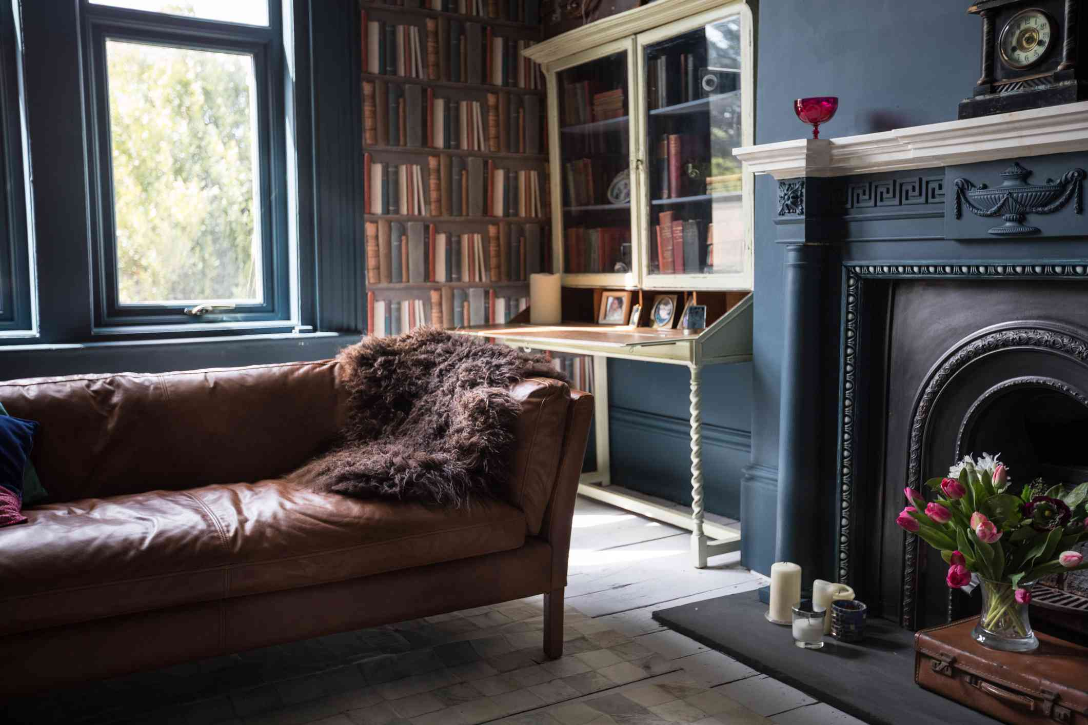 Cozy British living room