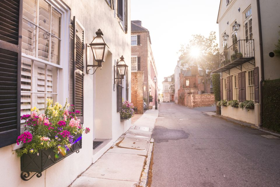 Historic Charleston, South Carolina street