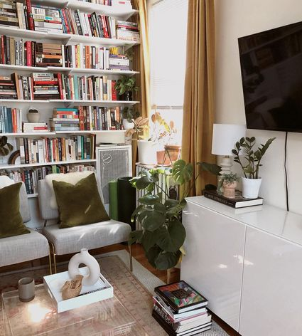 Floor to ceiling books