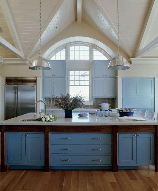 Casa Hamptons con isla de cocina gigante
