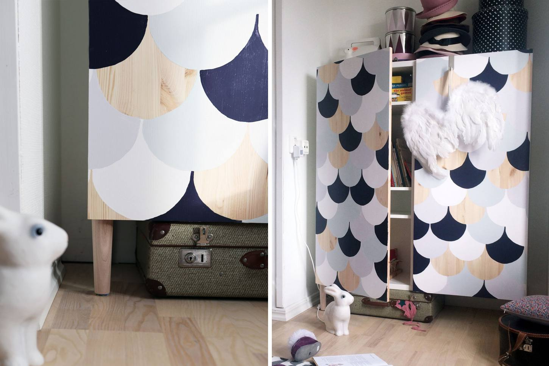 Scalloped Pattern Ikea Ivar