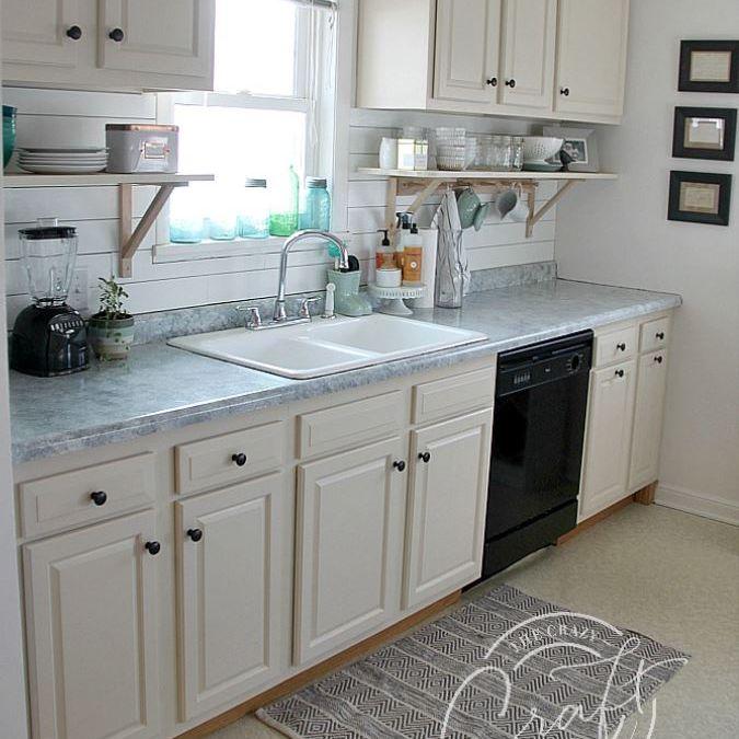 Cocina blanca actualizada.